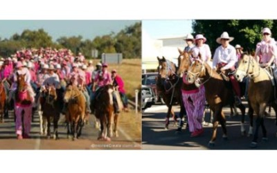 2009 Pink Outback Trail Ride raises $30,000 for charity